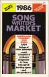 #sm86 -- Ruggeberg, Rand 1986 Songwriter's Market (front cover)