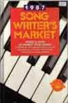 #sm87 -- Whaley, Julie Wesling 1987 Songwriter's Market (front cover)
