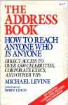 #uf -- Levine, Michael The Address Book, 5th ed. 1991