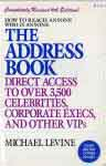 #ug -- Levine, Michael The Address Book, 6th ed. 1993