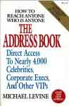 #uh -- Levine, Michael The Address Book, 7th ed. 1995