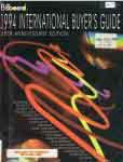 #ut -- Billboard Magazine. Billboard International Buyer's Guide, 1994, 35th ed.