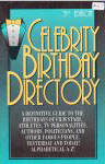 #xj -- Axiom Celebrity Birthday Directory, 3rd ed. 1995