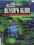 #yw -- Billboard Magazine. Billboard International Buyer's Guide, 1998, 39th ed.