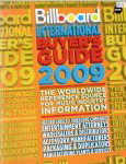 #yx -- Billboard Magazine. Billboard International Buyer's Guide, 2009, 50th ed.