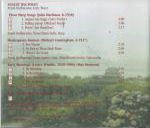 Alicia Records no #, 1997, CD liner notes back cover scan