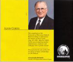 UW Oshkosh no #, 2003, CD liner notes back cover AND back tray card scan