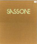 #9ac -- Barton, 1973,  Sassone: California: a Collection of Works, 1970-1973 (cover)