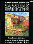 #9c -- Barton and Reeve, 1984,  Sassone Serigraphs: Catalogue Raisonne 1975-1984 (cover)