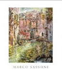 #9f01 -- MB Modern (art gallery) (Porges and Hoopes), 2000,  Marco Sassone: Recent Paintings (front cover)