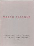 #9g -- Italian Cultural Institute, 1991,  Marco Sassone: March 1991 (cover)