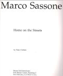 #9h03 -- Clothier, 1994,  Marco Sassone: Home on the Streets (title page)