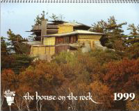 House on the Rock 1999 calendar cover