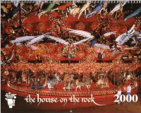 House on the Rock 2000 calendar cover