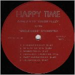Happy Time Records, variety #2, LP label scan