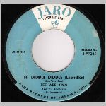 Jaro Records (Rank Records), 45 label scan