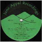 June Appal Recordings, LP label scan