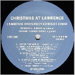 Lawrence University Records, variety #1, LP label scan