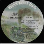 Mountain Railroad Records #MR-52784 Side B, LP label scan