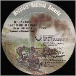 Mountain Railroad Records #MR-52788 Side B, LP label scan
