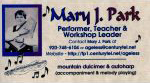 Mary Park business card scan