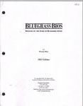 #jx -- Rice Bluegrass Bios: Profiles of the Stars of Bluegrass Music (title page)