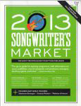 #sm13 -- Biederman, Roseann 2013 Songwriter's Market (front cover)