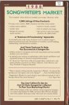 #sm88b -- Whaley, Julie Wesling 1988 Songwriter's Market (back cover)