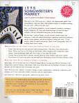 #sm98b -- Laufenberg, Cindy 1998 Songwriter's Market (back cover)