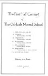 The First Half Century of the Oshkosh Normal School