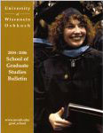 UW Oshkosh 2004-2006 Graduate Studies Bulletin cover