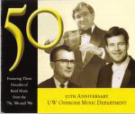 UW Oshkosh no #, 2003, CD liner notes front cover scan